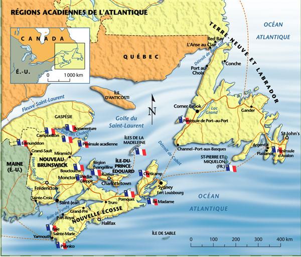 KIKIJIJI   CANADA..on ne vous dit pas ..TOUT - Page 3 Acadie_carte